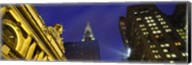 Night, Chrysler Building, Grand Central Station, NYC, New York City, New York State, USA Fine-Art Print