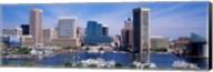 Inner Harbor Federal Hill Skyline Baltimore MD Fine-Art Print