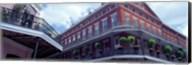 Wrought Iron Balcony New Orleans LA USA Fine-Art Print