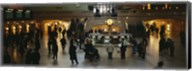 High angle view of a group of people in a station, Grand Central Station, Manhattan, New York City, New York State, USA Fine-Art Print