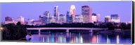 Minneapolis in Purple Fine-Art Print