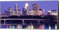 Minneapolis at Night Fine-Art Print