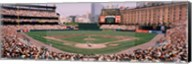 High angle view of a baseball field, Baltimore, Maryland Fine-Art Print