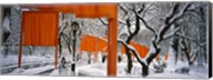 The Gates Project in Snow Fine-Art Print