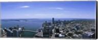Aerial view of a city, Miami, Florida Fine-Art Print