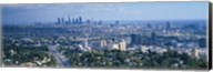 Aerial view of a city, Los Angeles, California, USA Fine-Art Print