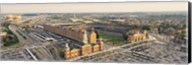 Aerial view of a baseball stadium in a city, Oriole Park at Camden Yards, Baltimore, Maryland, USA Fine-Art Print
