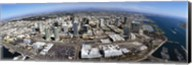 Aerial view of a city, San Diego, California, USA Fine-Art Print