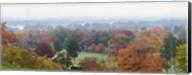 High angle view of a cemetery, Arlington National Cemetery, Washington DC, USA Fine-Art Print