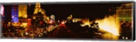 The Strip Lit Up at Night, Las Vegas, Nevada, USA Fine-Art Print