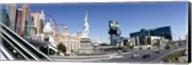 Buildings in a city, New York New York Hotel, MGM Casino, The Strip, Las Vegas, Clark County, Nevada, USA Fine-Art Print