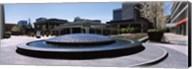 Plaza De Cesar Chavez Fountain, Downtown San Jose Fine-Art Print