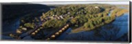 High angle view of a town, Harpers Ferry, Jefferson County, West Virginia, USA Fine-Art Print