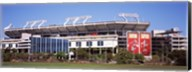 Raymond James Stadium home of Tampa Bay Buccaneers, Tampa, Florida Fine-Art Print
