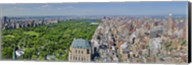 Aerial view of a city, Central Park, Manhattan, New York City, New York State, USA 2011 Fine-Art Print