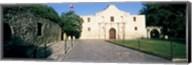 Facade of a building, The Alamo, San Antonio, Texas Fine-Art Print