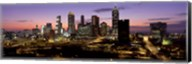 Skyline At Dusk, Cityscape, Skyline, City, Atlanta, Georgia, USA Fine-Art Print