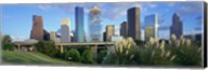 Aerial View of Houston Skyscrapers, Texas Fine-Art Print