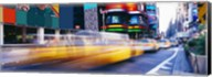 Yellow Cabs in Times Square, NYC Fine-Art Print