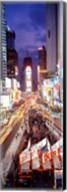 High Angle view of Times Square, NYC Fine-Art Print