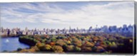 Manhattan from Central Park, New York City Fine-Art Print