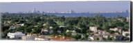 High Angle View Of The City, Miami, Florida, USA Fine-Art Print