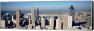 Aerial view of Atlanta skyscrapers, Georgia Fine-Art Print