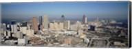 High angle view of downtown Atlanta, Georgia, USA Fine-Art Print