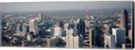 High angle view of Atlanta, Georgia, USA Fine-Art Print