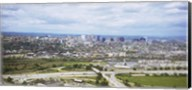 Aerial view of a city, Newark, New Jersey, USA Fine-Art Print