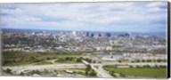 Aerial view of a city, Newark, New Jersey, USA Fine-Art Print