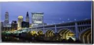 Detroit Avenue Bridge at Dusk Fine-Art Print