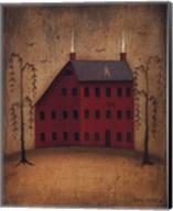 American Saltbox I Fine-Art Print