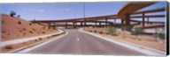 Road passing through a landscape, Phoenix, Arizona, USA Fine-Art Print