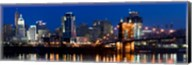 Cincinnati, Ohio at Night Fine-Art Print