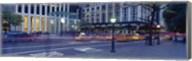 Traffic on the road, Fifth Avenue, Manhattan, New York City, New York State, USA Fine-Art Print