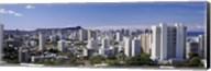 High rise buildings, Honolulu, Oahu, Honolulu County, Hawaii, USA 2010 Fine-Art Print