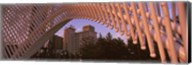 View from under the Myriad Botanical Gardens bandshell, Oklahoma City, Oklahoma, USA Fine-Art Print