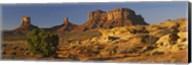 Rock Formations, Monument Valley, Arizona, USA (day, horizontal) Fine-Art Print