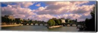 France, Paris, Seine River Fine-Art Print
