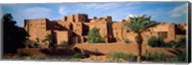 Buildings in a village, Ait Benhaddou, Ouarzazate, Marrakesh, Morocco Fine-Art Print