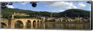 Bridge across a river, Heidelberg Germany Fine-Art Print
