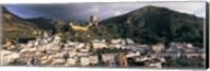 Buildings on a hillside, Cazorla, Andalucia, Spain Fine-Art Print