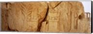 Carving on rocks, Palmyra, Syria Fine-Art Print