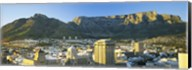 High angle view of a city, Cape Town, South Africa Fine-Art Print