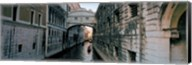 Bridge on a canal, Bridge Of Sighs, Grand Canal, Venice, Italy Fine-Art Print