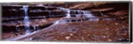 Stream flowing through rocks, North Creek, Utah Fine-Art Print