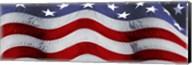 Close-up of an American flag Fine-Art Print