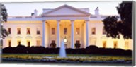 USA, Washington DC, White House, twilight Fine-Art Print