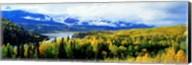 Panoramic View Of A Landscape, Yukon River, Alaska, USA, Fine-Art Print